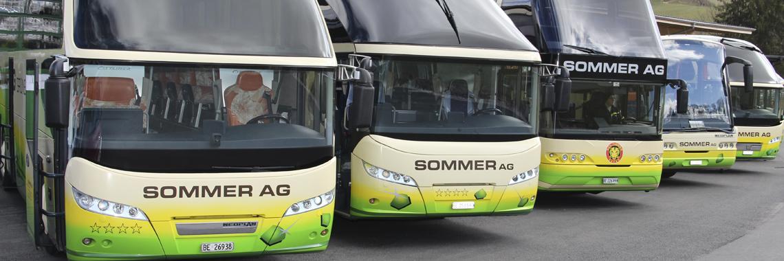 Sommer AG Carreisen | Reisebüro | Transporte ..:: Home