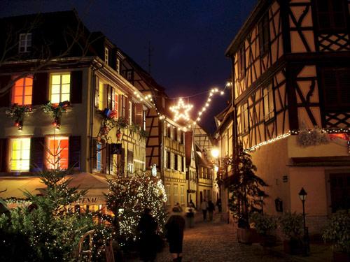 Colmar Weihnachtsmarkt.Sommer Ag Carreisen Reisebüro Transporte Weihnachtsmärkte